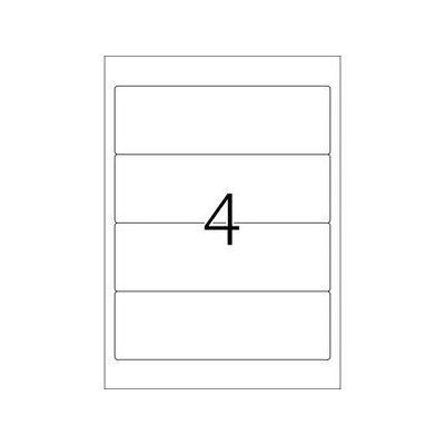 Herma etiket: Ordneretiketten wit 192x61 A4 Inkjet 100 st.