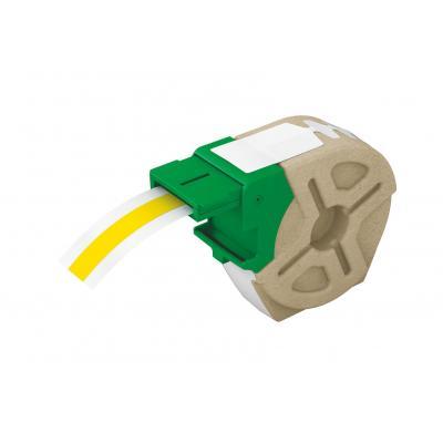 Leitz etiket: Icon Intelligent Plastic Label Cartridge 12 mm, 10 m, yellow - Geel