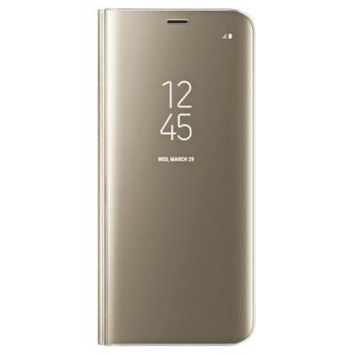 Samsung mobile phone case: Galaxy S8 Clear View Standing Cover - Goud