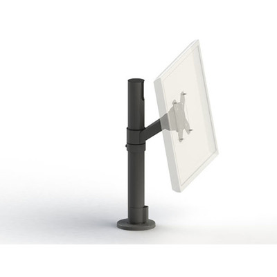 Ergonomic Solutions SpacePole SpacePole Monitorarm - Zwart