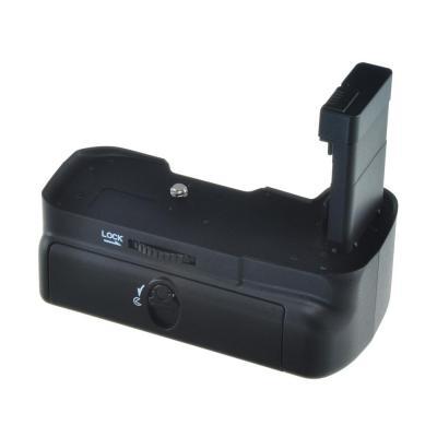 Jupio digitale camera batterij greep: Battery Grip voor Nikon D3100, Zwart