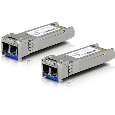 Ubiquiti Networks UF-SM-10G-20 Netwerk tranceiver module - Aluminium, Blauw