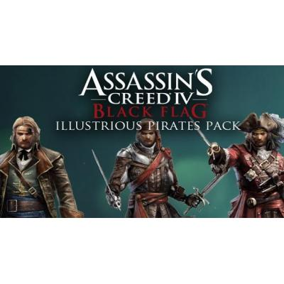 Ubisoft : Assassin's Creed IV Black Flag Illustrious Pirates Pack