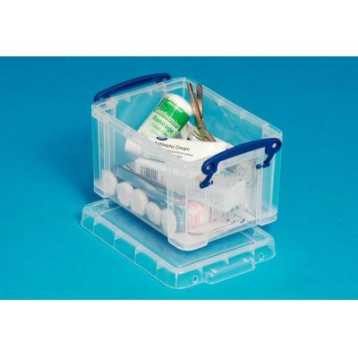 Really Useful Boxes 1.6L Box Transparant