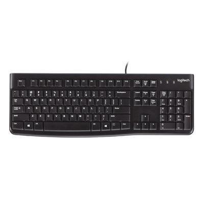 Logitech toetsenbord: K120 - Zwart, QWERTY