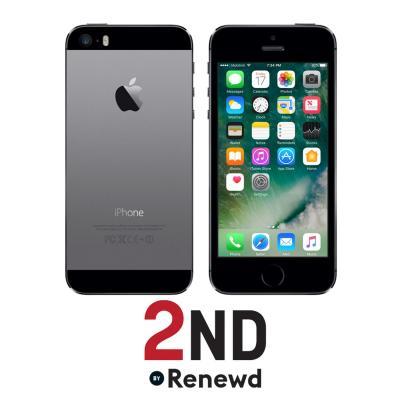 2nd by renewd smartphone: Apple iPhone 5S refurbished door 2ND - 64GB Spacegrijs - Zwart, Grijs (Refurbished ZG)