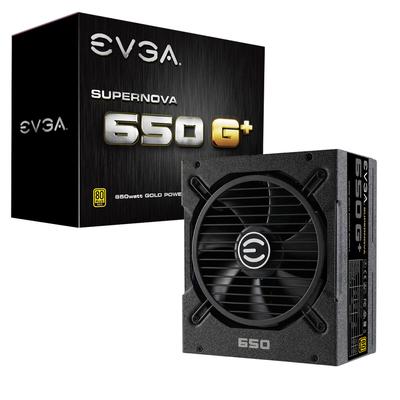 EVGA SuperNOVA 650 G1+ Power supply unit - Zwart