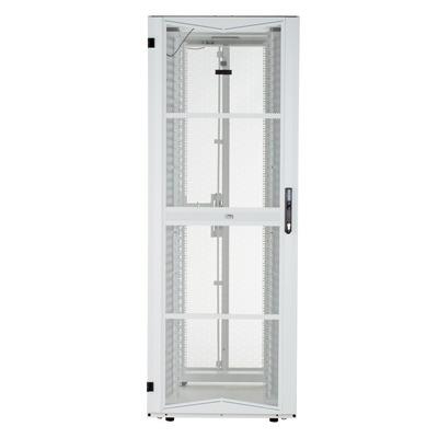 Panduit Steel, Casters, 600mm x 42RU x 1070mm, White Rack - Wit