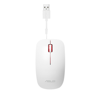 Asus computermuis: UT300 - Rood, Wit