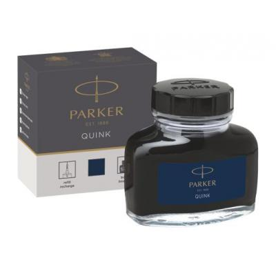 Parker QUINK BOTTLE, BLUE/BLACK Pen-hervulling - Zwart