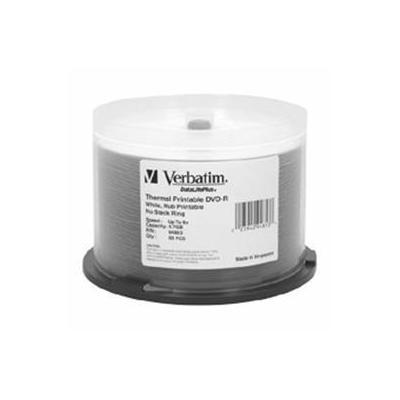 Verbatim DVD: DVD-R 16X 4.7GB 50pk