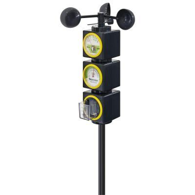 Bresser optics weerstation: Junior My first WeatherStation - Zwart, Geel