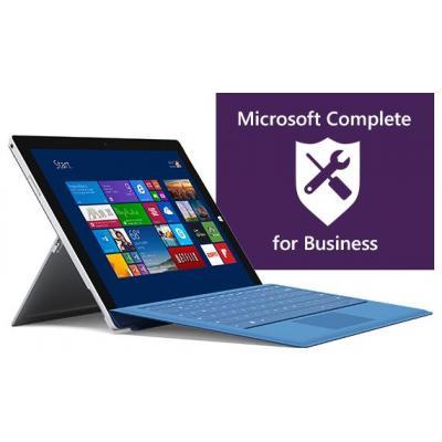 Microsoft garantie: Complete for Business 4 jaar (Surface Pro)