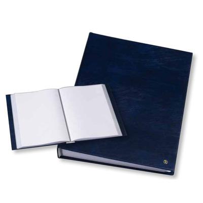 Rillstab A4, 100 pcs, generfd kunststof, blauw