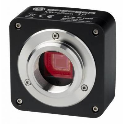 Bresser optics microscoop accessoire: MIKROCAM SP 5.0 - Aluminium, Zwart