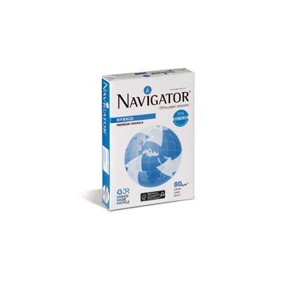 Navigator Hybrid, 80 g/m2, ISO 9001, ISO 14001 Papier - Wit