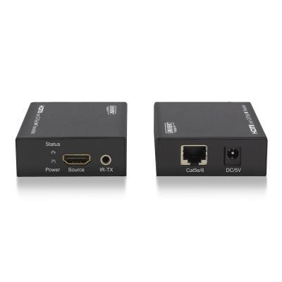 Eminent AV extender: HDMI Extender set via een enkele UTP kabel - Zwart