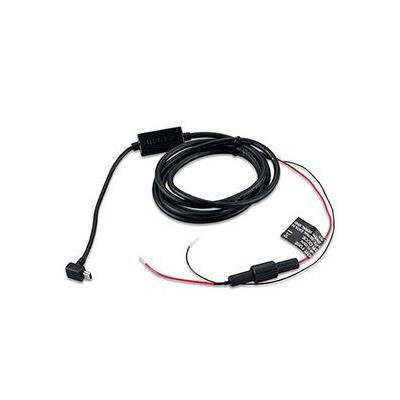 Garmin electriciteitssnoer: GTU10\USB Power cable\Bare Wires - Zwart