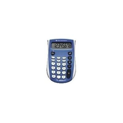 Texas instruments calculator: TI-503 SV - Blauw, Wit