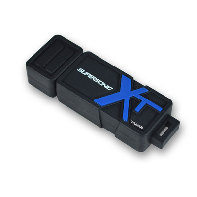 Patriot Memory 256GB Supersonic Boost XT USB 3.0 USB flash drive - Zwart, Blauw