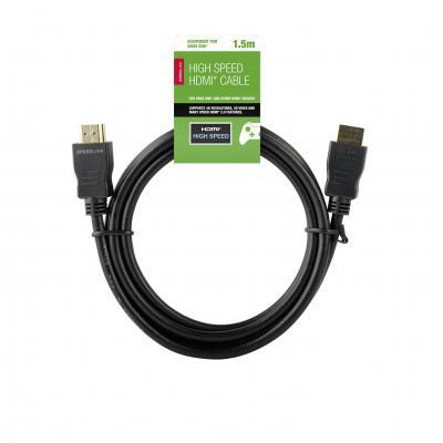Speedlink kabel: Speedlink, HIGH SPEED HDMI Cable, 1.5m Xbox One
