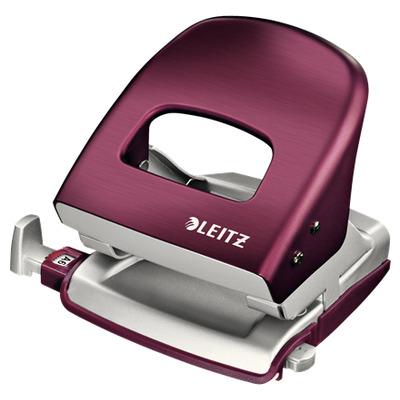 Leitz perferator: NeXXt 5006 - Rood, Zilver