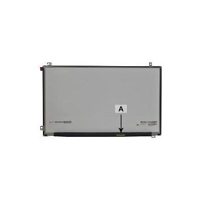 "2-power notebook reserve-onderdeel: 31.75 cm (12.5 "") WXGA 30 Pin LD HD - Zwart, Grijs"