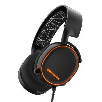 Steelseries headset: Arctis 5 - Zwart