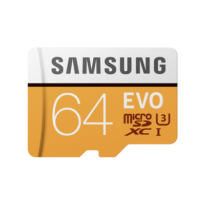 Samsung flashgeheugen: MB-MP64G - Oranje, Wit