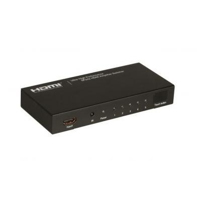 EFB Elektronik ME1010 Video switch - Zwart