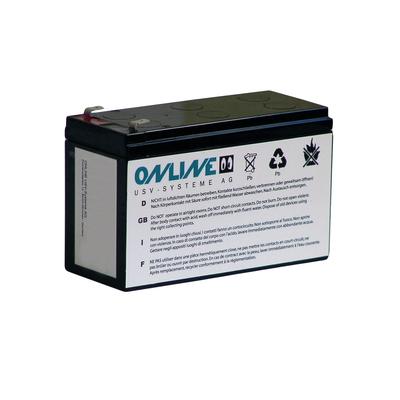 ONLINE USV-Systeme BCZA1000 UPS batterij - Grijs