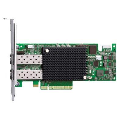 Dell netwerkkaart: Emulex LPe-16.000 Fibre Channel Host Bus Adapter - Groen