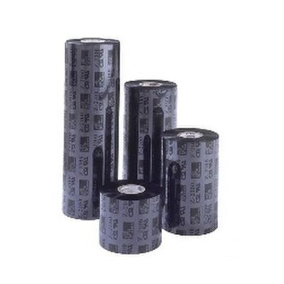"""Zebra Wax/resin 3200 1.30"""" Printerlint - Zwart"""