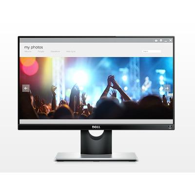 Dell monitor: S Series S2216H - Zwart