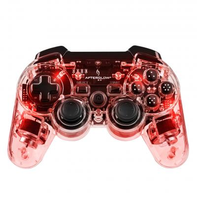 Afterglow game controller: - Wireless Controller (Rood)  PS3