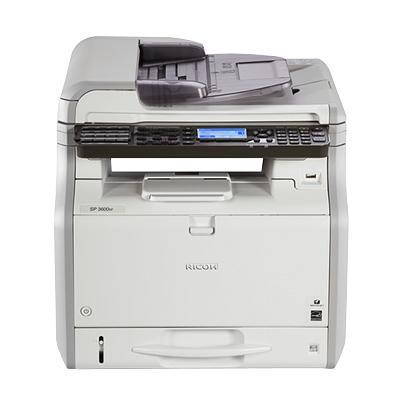 Ricoh multifunctional: SP 3600SF - Zwart