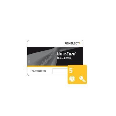Reiner sct access card: timeCard Chipkarten 5 (DES)