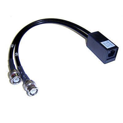 Cisco CAB-ADPT-75-120= Coax kabel - Zwart