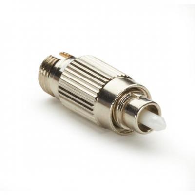 Black Box M/F FC, APC, 2dB Fiber optic adapter - Goud