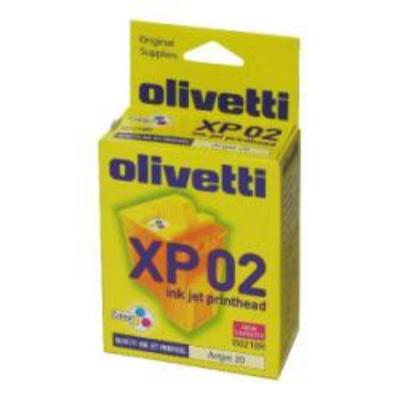 Olivetti XP02 Printkop - Cyaan,Magenta,Geel