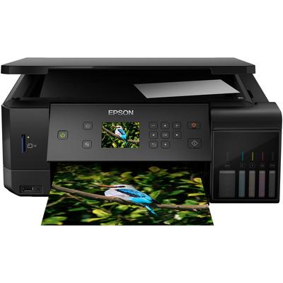 Epson EcoTank ET-7700 Multifunctional - Zwart, Cyaan, Magenta, Foto zwart, Geel