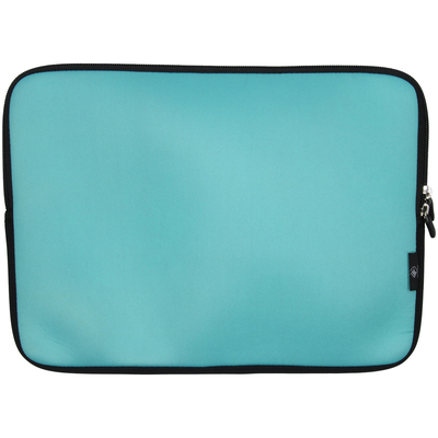Imoshion Universele sleeve met handvatten 15 inch - Turquoise - Turquoise Notebook tas en case