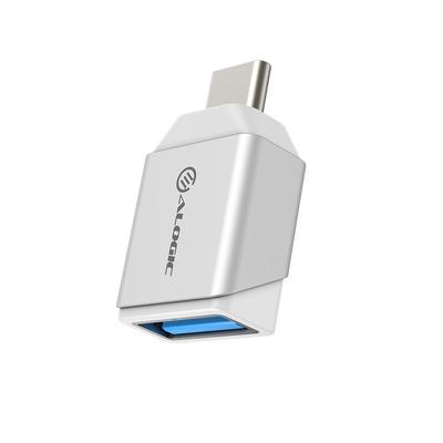 ALOGIC Mini USB-C - USB-A, M/F, USB 3.1 Gen 1 Kabel adapter - Zilver