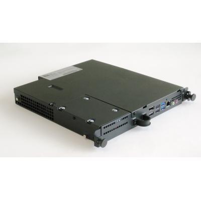 Elo touchsystems thin client: ECMG2B - Zwart