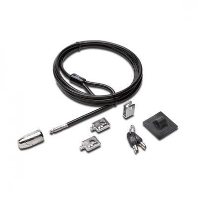 Kensington kabelslot: Vergrendelkit voor desktop en randapparaten 2.0 - Zwart, Roestvrijstaal