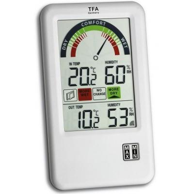 Tfa weerstation: 'Bel-Air' wireless thermo-hygrometer with ventilation tip