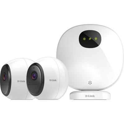 D-Link DCS-2802KT Video toezicht kit - Zwart,Wit