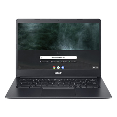"Acer Chromebook 314 C933T-P95Z 14"" Touch Pentium Silver 8GB RAM 64GB eMMC - QWERTY Laptop - Zwart"