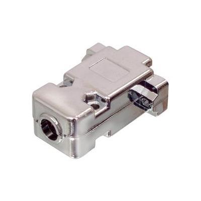 Valueline kabelbeschermer: D-Sub Hoods - Zilver