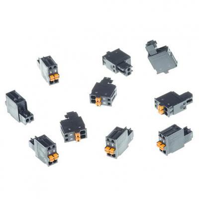 Axis CONNECTOR A 2P2.5 STR 10PCS Kabel connector - Grijs